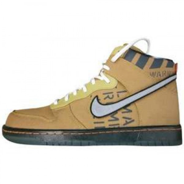 Nike Dunk Hi Premium QS NBA 2012 All-Star FLT GOLD...