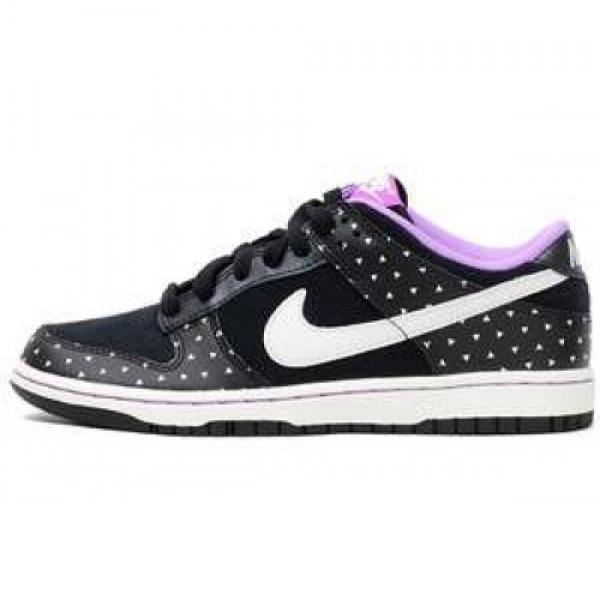 Wmns Nike Dunk low Skinny BLACK/SAIL-LASER PURPLE ウィメンズ ナイキ ダンク ロウ スキニー ブラック/セイル パープル 543241-030