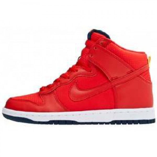Nike Dunk High'08 LE UNIVERSITY RED/UNIVERSITY RED...