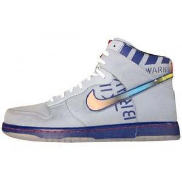 Nike Dunk Hi Premium QS NBA 2012 All-Star BLUE GRE...