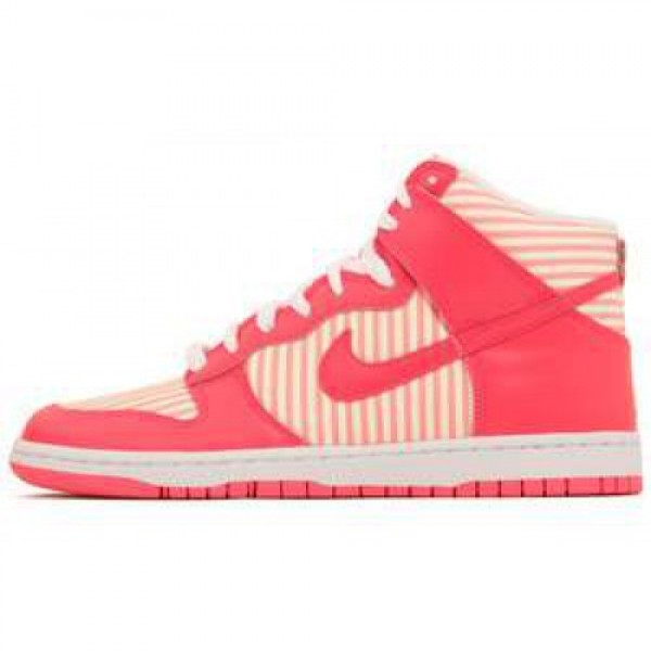 WMNS Nike Dunk High Skinny HOT PUNCH/HOT PUNCH-WHI...