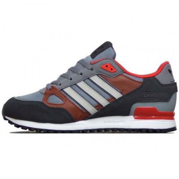 adidas ZX750 DRAK GREY/BROWN/RED アディダス �...