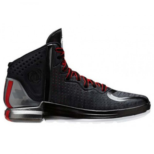 adidas D Rose 4 BLACK/STEEL/RED アディダス �...