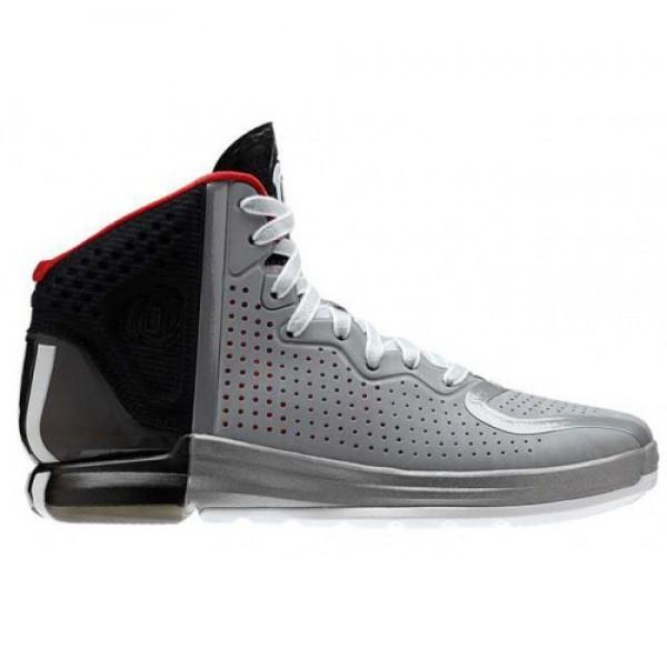 adidas D Rose 4 GREY/BLACK/RED アディダス ディー ローズ 4 グレイ/ブラックレッド G67398  限定品特価商品