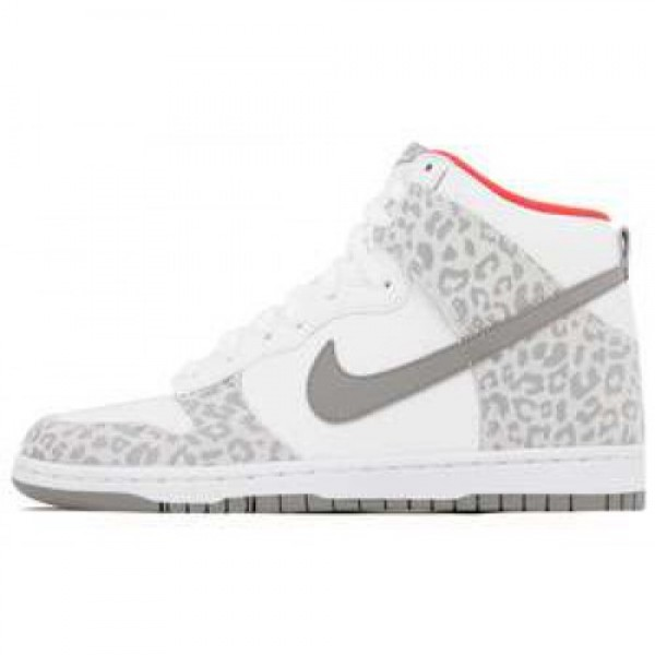 Wmns Nike Dunk High Skinny WHITE/MEDIUM GREY-SUNBU...