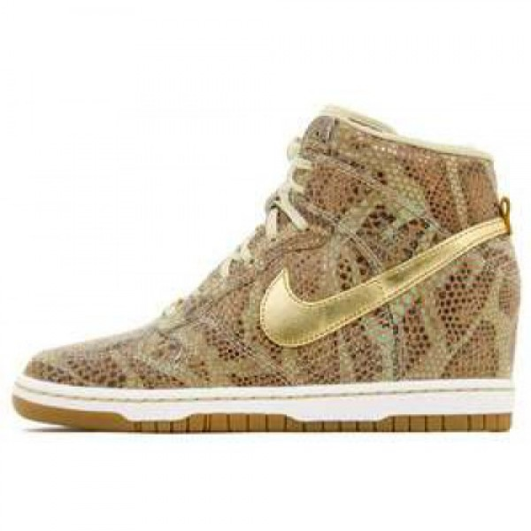 "Nike Wmns Dunk Sky Hi YOTS QS ""Golden Python&..."