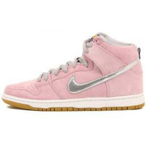 "Nike Dunk High Pro Premium SB x Concepts ""When Pigs Fly"" REAL PINK/MTLLC SLVR-SMMT WHT ナイキ ダンク ハイ プロ プレミアム エスビー x コンセプト ウェン・ピグス・フライ リアルピンク/メタリッ�"