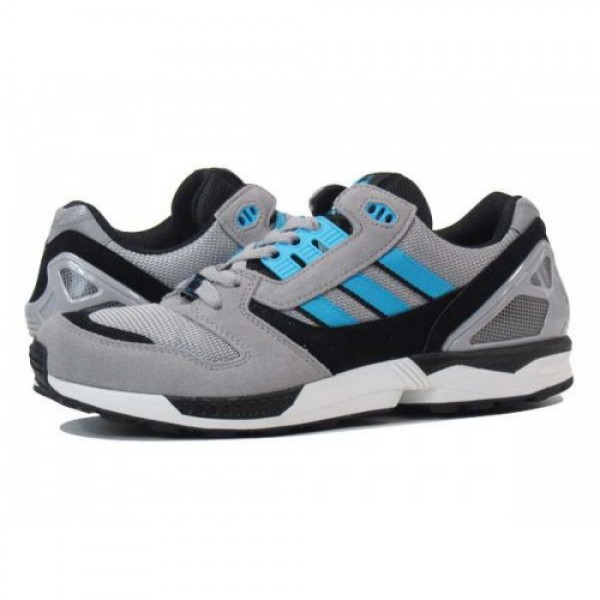 ADIDAS ZX8000 【adidas Originals】 アディダス ZX8000 ALUMINIUM GREY/WHITE/BLACK/BLUE d65458 超激安100%新品