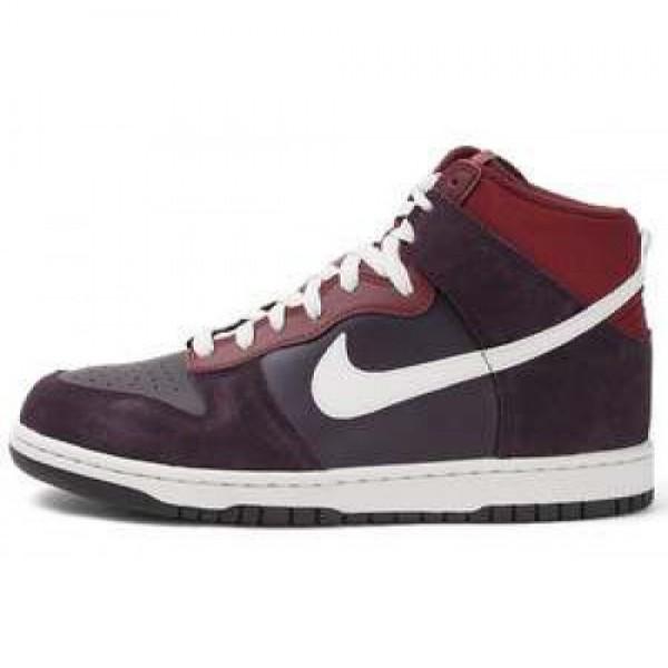 Nike Dunk High PORT WINE/LIGHT BONE-DRK TM RD ナ�...