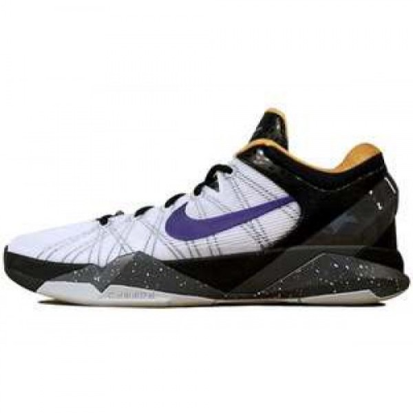 Nike Zoom Kobe VII System X CRT PRPL/UNVRSTY GLD-W...