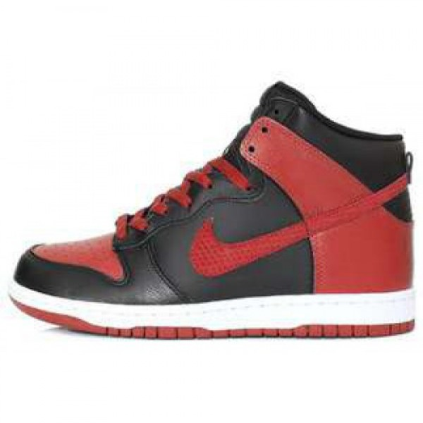 Nike Dunk High BLACK/SPORT RED-WHITE ナイキ ダ...