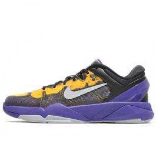 Nike Zoom Kobe VII (GS) CRT PURPLE/WLF GRY-TR YLLW-BLK ナイキ ズーム コービ 7 ガールズ パープル/ウルフグレイ イエロー ブラック 505399-501  2015激安限定2015激安限定