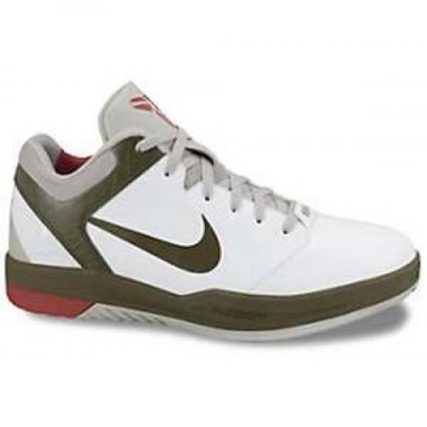 Nike Zoom Kobe VII Point 5 WHITE/SQDRN GREEN-VRSTY...