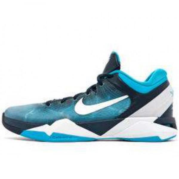 Nike Zoom Kobe VII Great White Shark OBSIDIAN/WHIT...