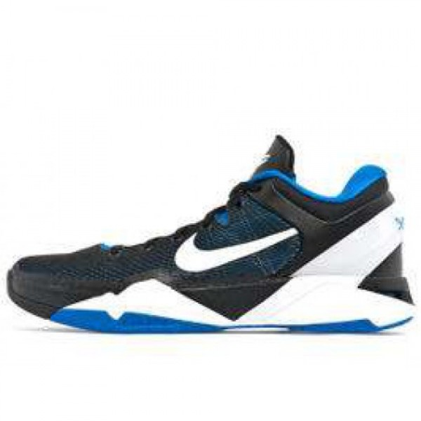 Nike Zoom Kobe VII X Duke TREASURE BLUE/WHITE-BLAC...