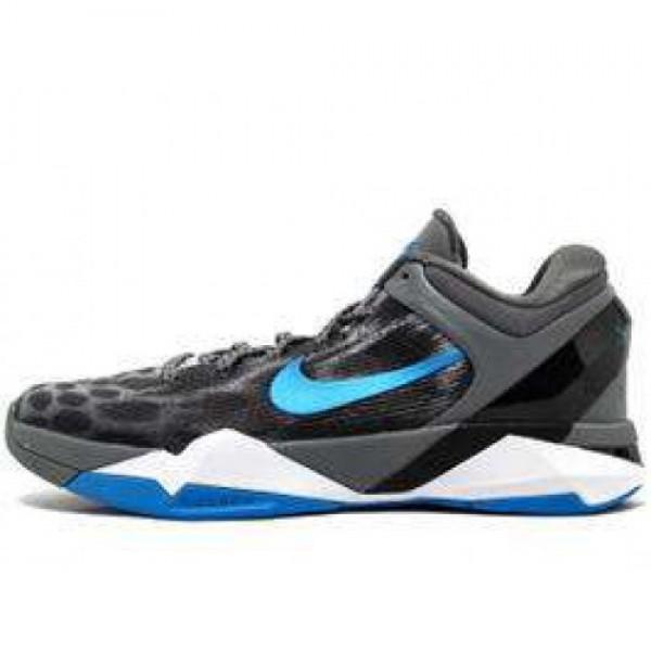 Nike Zoom Kobe VII System X Grey Cheetah WOLF GREY...