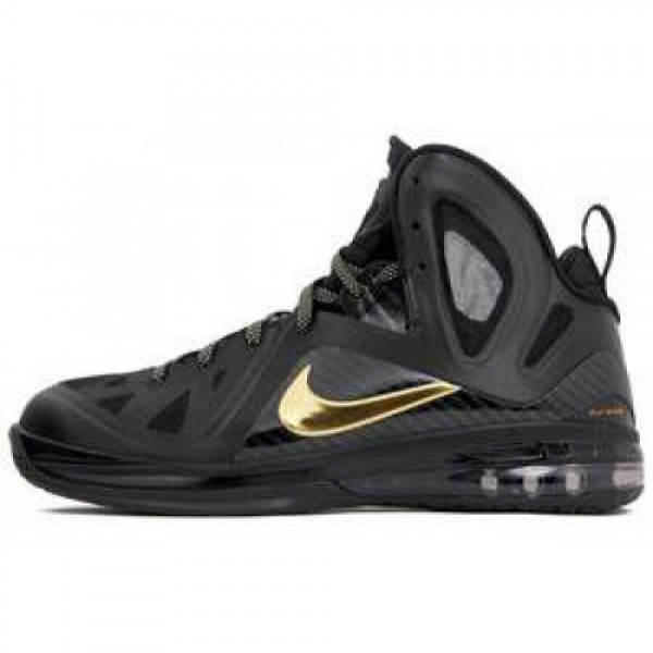 Nike LeBron 9 P.S. Elite BLACK/METALLIC GOLD-BLACK ナイキ レブロン 9 ピーエス エリート ブラック/メタリックゴールド ブラック 516958-002