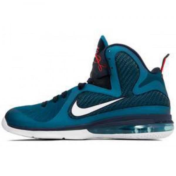 Nike LeBron 9 Swingman GRN ABYSS/WHITE-OBSDN-LT BL...