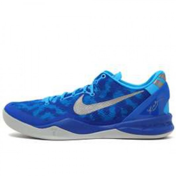 Nike Kobe 8 System GC BLUE GLOW/STRATA GREY-GM ROY...