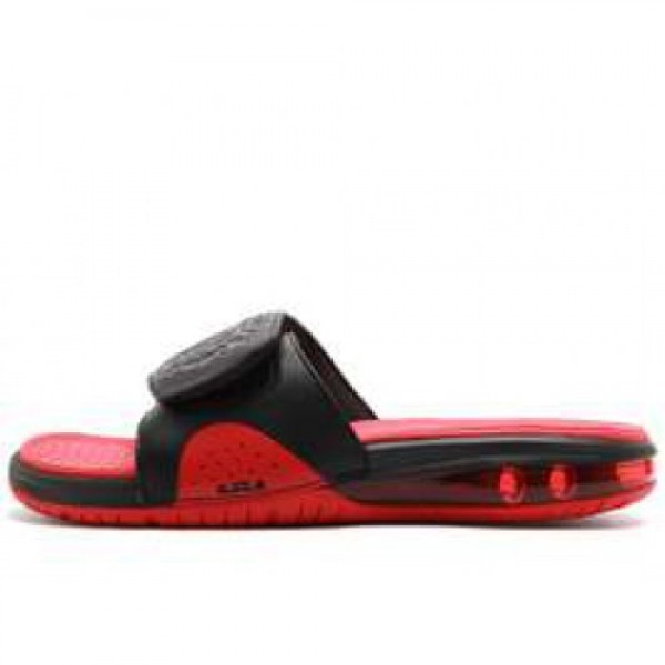 Nike Air LeBron Slide BLACK/BLACK-UNIVERSITY RED �...