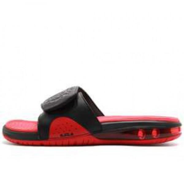 Nike Air LeBron Slide BLACK/BLACK-UNIVERSITY RED ナイキ エア レブロン スライド ブラック/ユニバーシティーレッド 487332-010