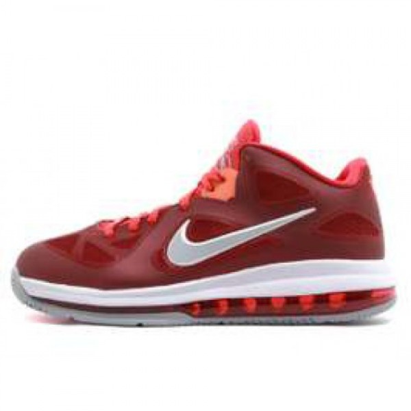 Nike LeBron 9 Low TM RD/WLF GRY-CHLLNG RD-TTL OR �...