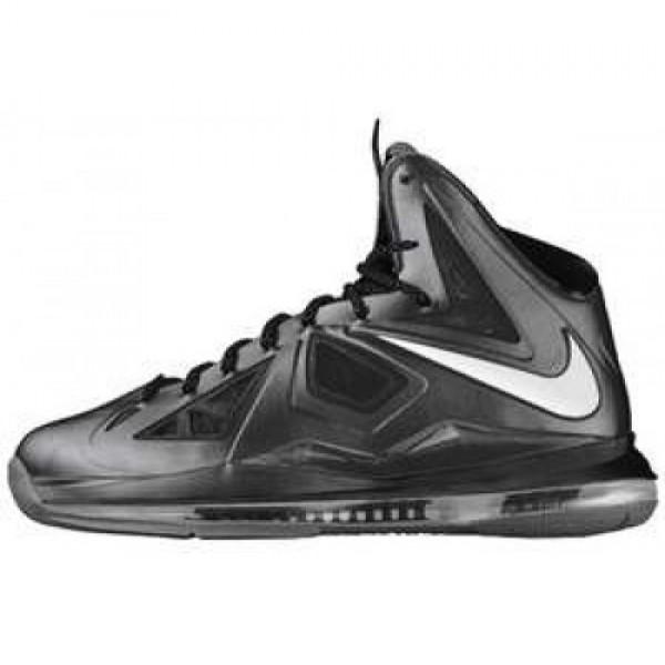 Nike Lebron X XDR BLACK/METALLIC SILVER-ANTHRCT ナイキ レブロン 10 XDRソール ブラック/メタリックシルバー アンスラサイト 543645-002