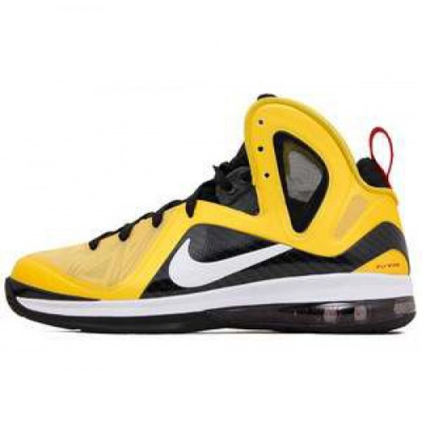 Nike LeBron 9 P.S. Elite Taxi VRSTY MAIZE/WHITE-BL...