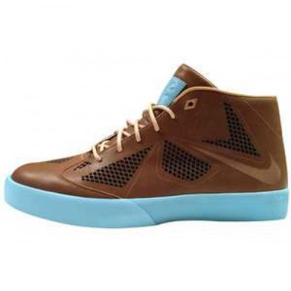 Nike LeBron X NSW Lifestyle NRG HZLNT/HZLNT-TD PL BL-JRSY GLD ナイキ レブロン 10 NSW エナジー ヘイゼルナッツ/ブルー ジャージーゴールド 582553-200