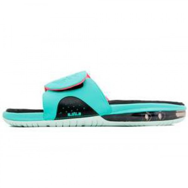 Nike Air LeBron Slide South Beach RETRO/RETRO-FLMNT GRN-PNK FLSH ナイキ エア レブロン スライド サウスビーチ 487332-400
