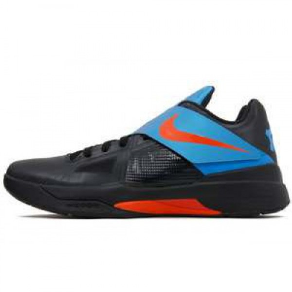 Nike Zoom KD IV X BLACK/TEAM ORANGE-PHOTO BLUE ナ...