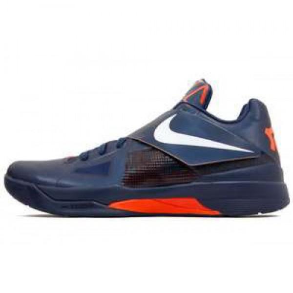 Nike Zoom KD IV X MIDNIGHT NAVY/WHITE-TM ORANGE �...