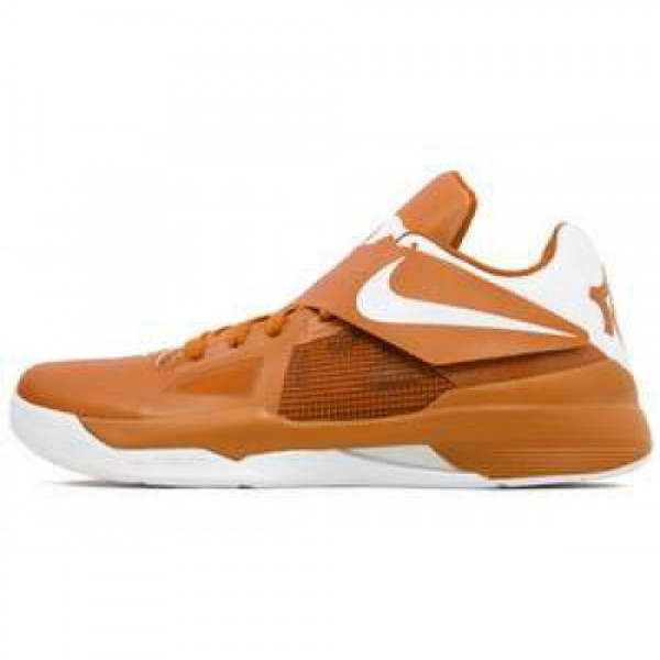 Nike Zoom KD IV Texas Longhorns PE DESERT ORANGE/W...