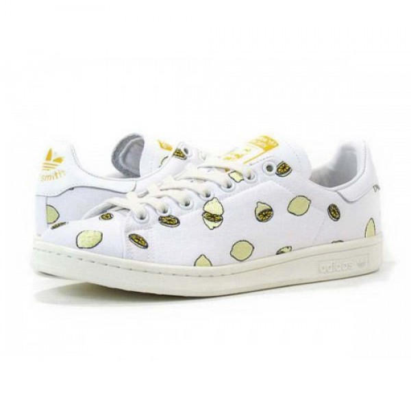 adidas Stan Smith 【adidas Originals】 WHITE/WHITE/SUNSHINE d67656 人気大量入库