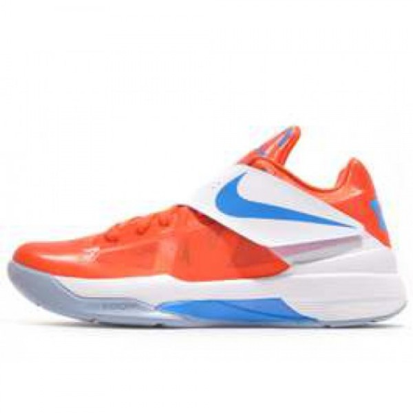 Nike Zoom KD IV TEAM ORANGE/PHOTO BLUE-WHITE ナ�...