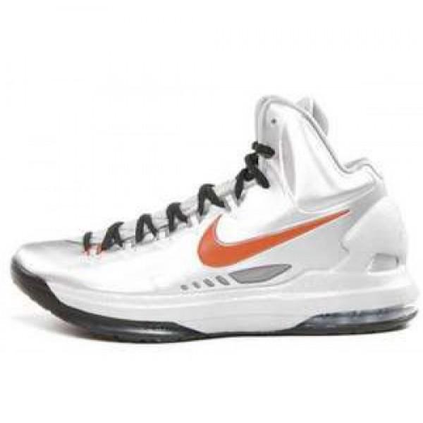 Nike KD V Texas MTLLC SLVR/DSRT ORNG-SPRT GRY ナイキ KD 5 テキサス ケビン・デュラント メタリックシルバー/オレンジ グレイ 554988-002