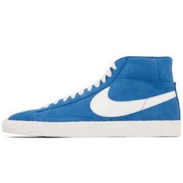 Nike Blazer High Premium Retro SDE ITLY BL/SL-VRSTY RYL-GM DRK BR ナイキ ブレイザー ロウ プレミアム レトロ エスディーイー イタリーブルー 511427-472