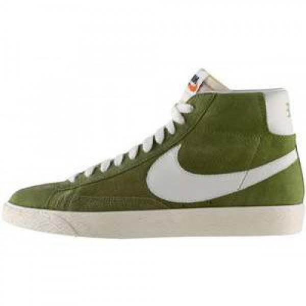 Nike Blazer Mid PRM VNTG Suede IGUANA/SAIL ナイ�...