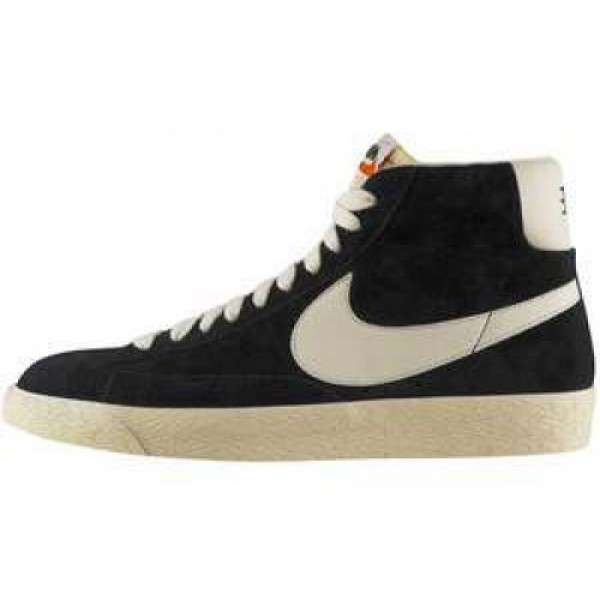 Nike Blazer Mid PRM VNTG Suede BLACK/SAIL ナイキ ブレザー ミッド ヴィンテージ スエード ブラック/セイル 538282-040