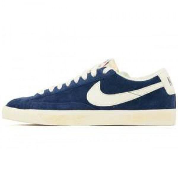 Nike Blazer Low PRM VNTG Obisidian ナイキ ブ�...