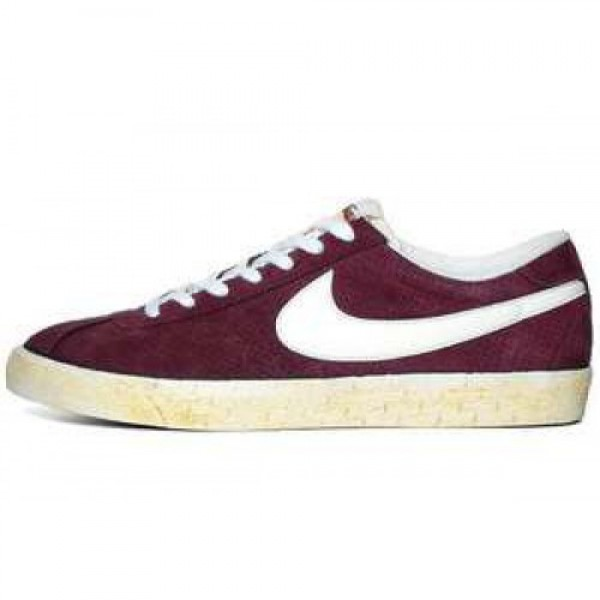 Nike Bruin Vntg RED MAHOGANY/SAIL-SUMMIT WHITE ナ...