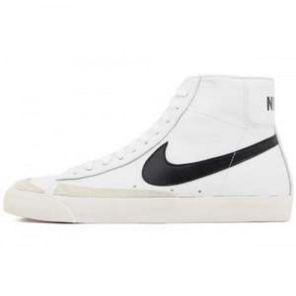 Nike Blazer Mid 77 PRM VNTG WHITE/BLACK-TEAM ORANG...