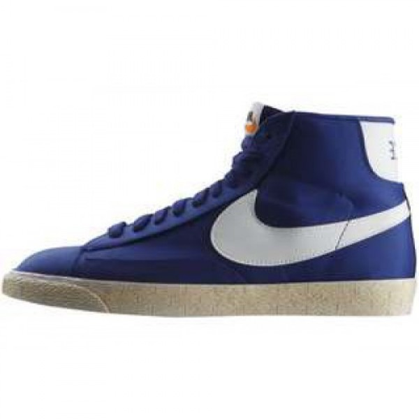 Nike Blazer High (VNTG) ND BRIGHT BLUE/WHITE ナ�...