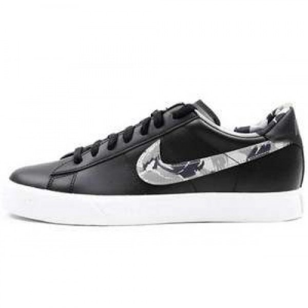 Nike Sweet Classic Leather CH BLACK/FLAT PEWTER-WH...