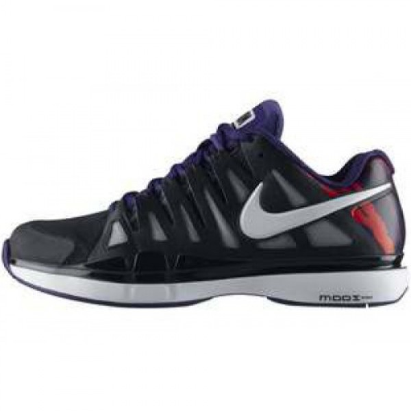 Nike Zoom Vapor 9 BLACK/WHITE-COURT PURPLE ナイ�...