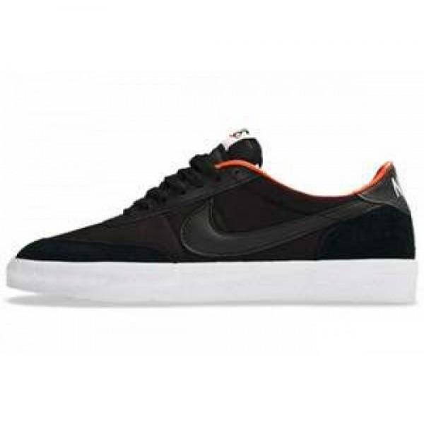 Nike Killshot 2 BLACK/BLACK-TM ORNG-SFTY ORNG ナイキ キルショット ブラック/チームオレンジ 503284-004
