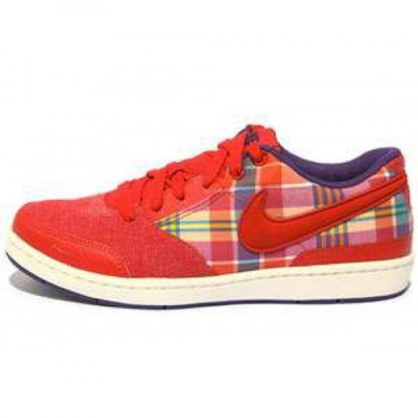 Wmns Nike Style SPORT RED/CLUB PURPLE-SAIL ウィ�...