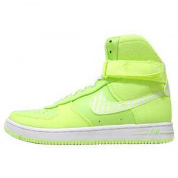 Nike WMNS Air Feather High LIQUID LIME/WHITE ナ�...
