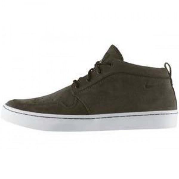 Nike Wardour Chukka VELVET BROWN/VLVT BROWN-WHITE ...