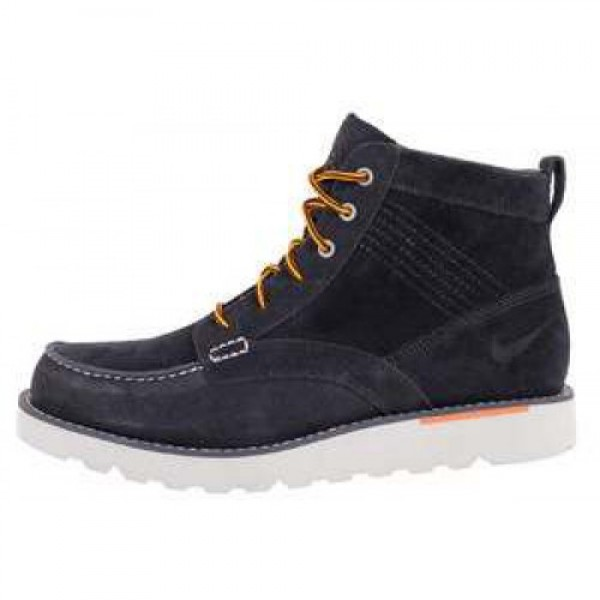 Nike Kingman Leather DRK OBSDN/DRK OBSDN-TTL ORNG ...